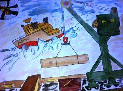 В порту кипит работа_1