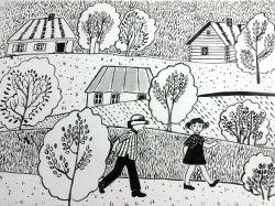 У бабушки в деревне_1