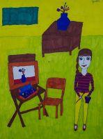 Я в художке. Гусева Дарья, 8 лет. ДХШ г. Зеленогорск_1
